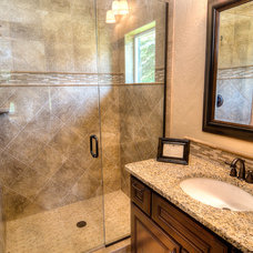 Craftsman Bathroom by Aspen Homes