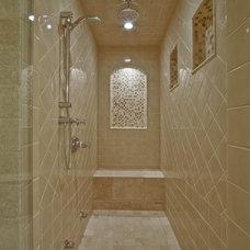 Traditional Bathroom by Debbie Evans Interior Design