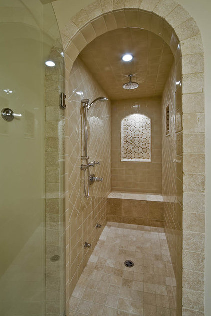 traditional bathroom by Debbie Evans,RID