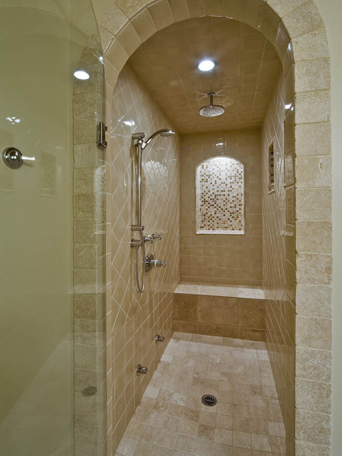 Narrow Shower Home Design Ideas Pictures Remodel And Decor