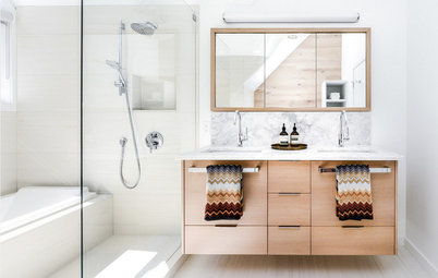 13 schicke badezimmer mit metro fliesen - Fliesen skandinavischen stil ...
