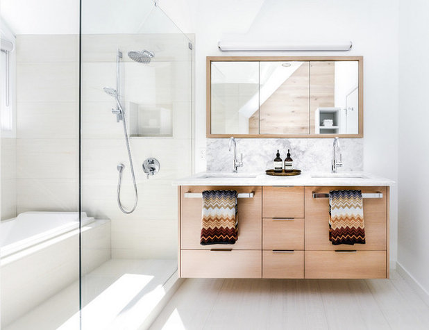 Skandinavisch Badezimmer By Key Tile CO