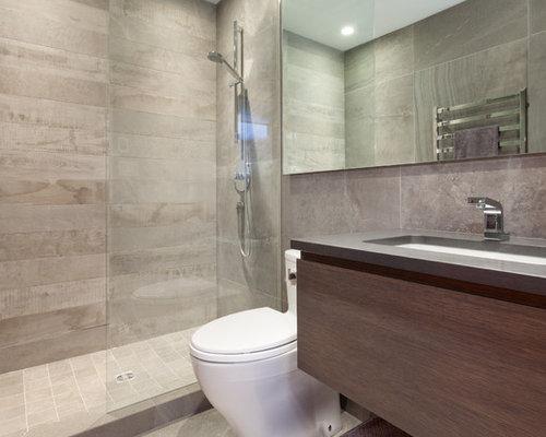 Rustic bathroom and cloakroom design ideas renovations for Gray rustic bathroom