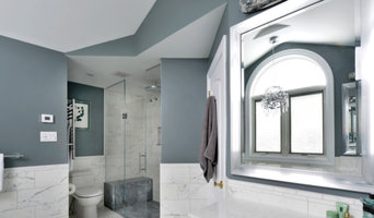 White and Gray Bathroom