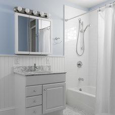 Traditional Bathroom by Aaron Gordon Construction, Inc.