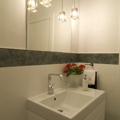 modern bathroom by NURIT GEFFEN-BATIM STUDIO