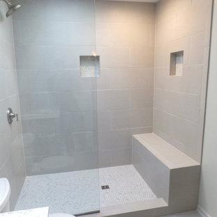 White Bathroom Remodel