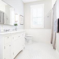 Transitional Bathroom by Tracy Herbert Interiors, LLC