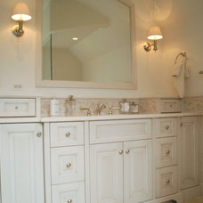 Traditional Bathroom by Benvenuti and Stein