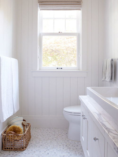 Small white bathroom home design ideas pictures remodel and decor Small bathroom remodel designs