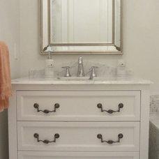 Traditional Bathroom by Galileo Construction Inc.