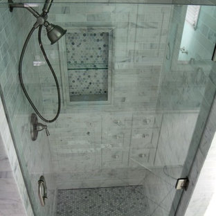 Example of a classic bathroom design in Atlanta