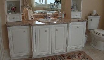 White Custom Bathroom Vanity