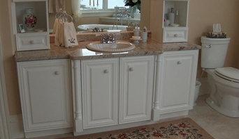 White Custom Bathroom Vanity