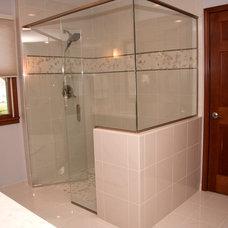 Transitional Bathroom by J.T. McDermott Remodeling