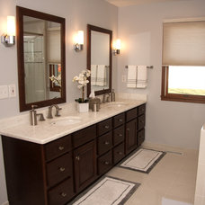 Transitional Bathroom by J.T. McDermott Remodeling