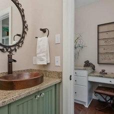 Traditional Bathroom by Kathie Karsnia Interiors