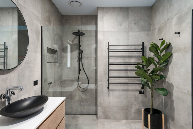 Contemporary Bathroom by Lydia Maskiell Interiors