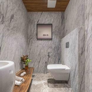 Salle de bain avec une vasque Inde : Photos et idées déco de ...