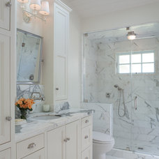 Traditional Bathroom by Ann Lowengart Interiors