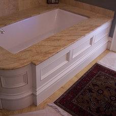 Traditional Bathroom by AMF Custom Works