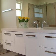 Modern Bathroom by Custom Spaces Design