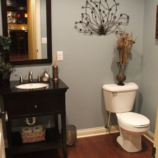 Traditional Bathroom by Finished Basements Plus