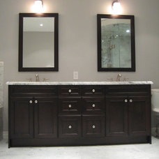 Contemporary Bathroom by Peel Tile