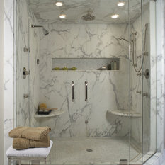 Marble Shower Niche | Houzz on small bathroom tile design, shaker style bathroom design, simple small house design, early 1900 bathroom design, shabby chic bathroom design, joanna gaines bathroom design, mediterranean bathroom design, pinterest bathroom design, trends bathroom design, renovation bathroom design, rustic cottage bathroom design, house beautiful bathroom design, fireplace with stone wall living room design, spa bathroom design, modern bathroom design, very small bathroom design, bathroom interior design, fall bathroom design, asian bathroom design, retro bathroom design,