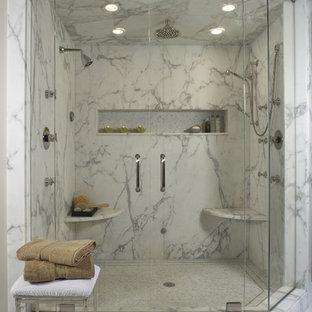 Marble Shower Seat Houzz