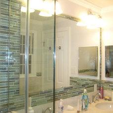 Tropical Bathroom by StoneMar Natural Stone Company LLC