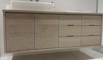 White Oak Hardwood Vanity