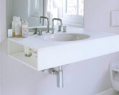 Wall Hung Sink Home Design Ideas, Pictures, Remodel and Decor