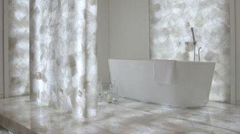 White Quartz Bathroom