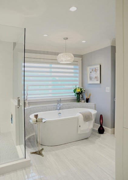 Traditional Bathroom by Enviable Designs Inc.