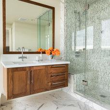 Contemporary Bathroom by Moeski Design Agency