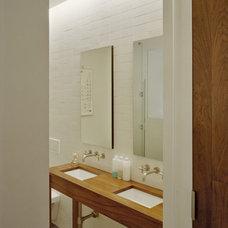 Contemporary Bathroom by Jane Kim Design