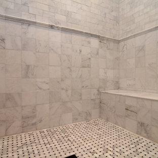 White Tile Shower