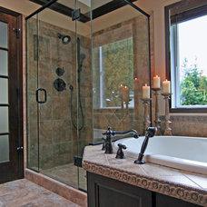 Traditional Bathroom by Estate Homes Inc