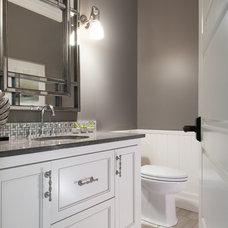 Contemporary Bathroom by Laurysen Kitchens Ltd.