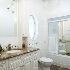 Traditional Bathroom by Laurysen Kitchens Ltd.