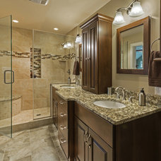 Transitional Bathroom by S.J. Janis Company, Inc.