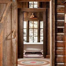 Rustic Bathroom by Montana Creative architecture + design