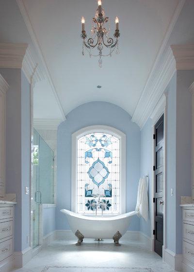 Transitional Bathroom by Whitestone Builders