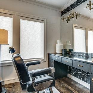 75 most popular black tile bathroom design ideas for 2019