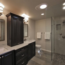 Transitional Bathroom by Kingston Design Remodeling