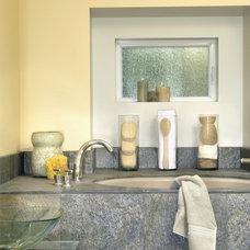 Contemporary Bathroom by Susan M. Davis