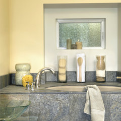 contemporary bathroom by Susan M. Davis