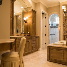Traditional Bathroom by A Team Kitchen and Bath