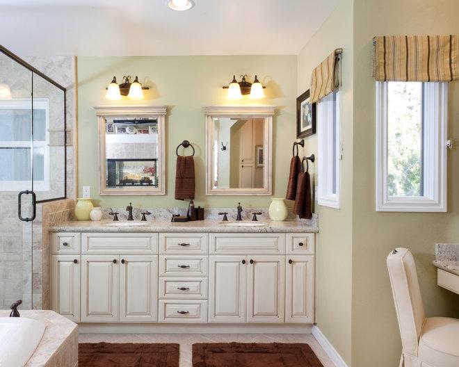 Traditional Bathroom by Marrokal Design & Remodeling